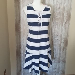 Chaps Size M Sleeveless Summer Dress